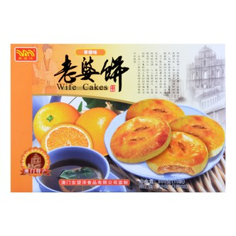 澳门东望洋 老婆饼 香橙味 300g