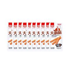 【Value Pack】JINMOFANG Vegetarian Meat Snack BBQ Flavor 30g*10