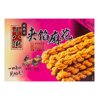 GUIFAXIANG Fried Dough Twist Hawthorn Flavor 140g