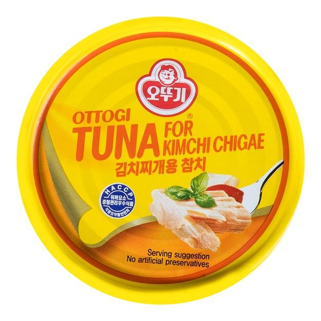 商品详情 - 韩国OTTOGI不倒翁 金枪鱼罐头 泡菜味 150g - image  0