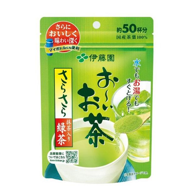 商品详情 - [日本直邮]   ITOEN 伊藤园 绿茶粉 天然速溶冷热 50杯 40g - image  0