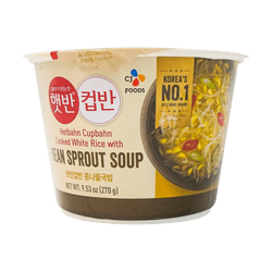 CJ Cooked White Rice with Bean Sprout Soup 270g