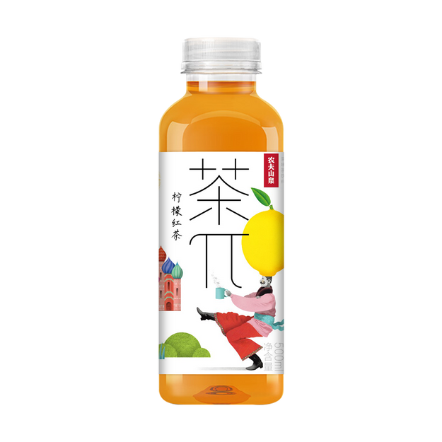 Product Detail - NONGFUSPRING Lemon Black Tea 500 ml - image 0