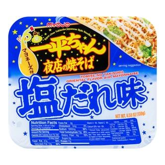日本MYOJO明星 超级王牌拉面 一平酱 夜店炒面 胡椒盐蛋黄酱味 130g