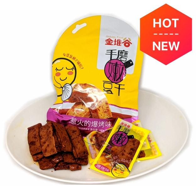 Product Detail - Jinduigu Hand Made Tender Tofu Snack BBQ Flavor 180g - image 0