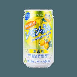 日本CHOYA 日式柠檬汽水 350ml