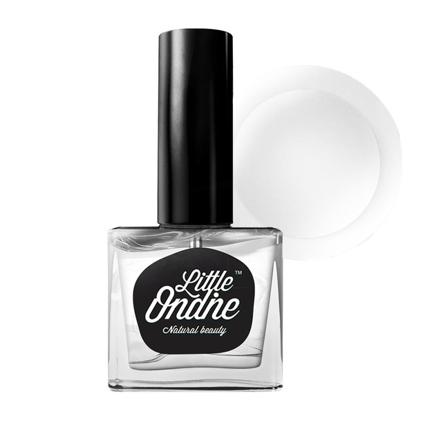 Product Detail - Little Ondine Water-based Peel off Odor Free Quick Dry Non Toxic Natural Nail Polish Top Coat (Matte) - image 0