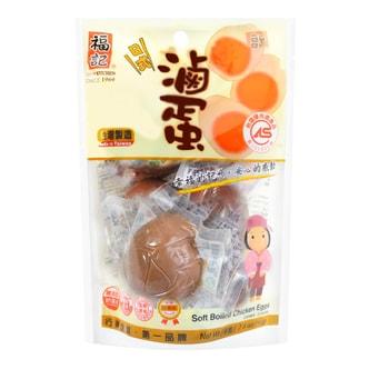 台湾福记 即食卤蛋 6颗入