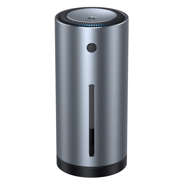 Product Detail - LORDUPHOLD Car Air Humidifier Aluminium Alloy 300mL With LED Light For Auto Armo Home Office Accessories Gray 1 pcs - image  0