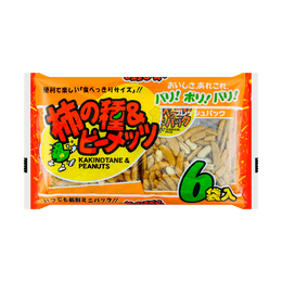 KANAZURU RICE CRACKER&PEANUTS 260g