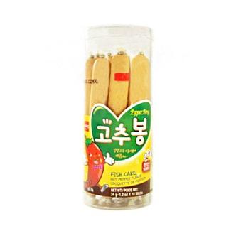 韩国WANG 美味鱼肠 香辣味 10根入