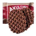 【中国直邮】俄罗斯进口零食阿古丽切夫巧克力味华夫饼干220g