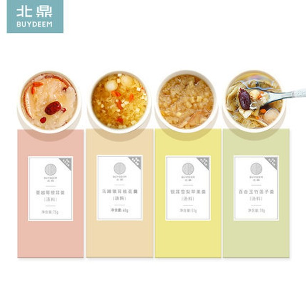 Product Detail - BUYDEEM Chinese tremella soup set 4 boxes - image 0
