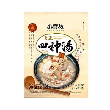 台湾小磨坊 大正四神汤 药膳食补、清心养神煲汤料 3~4人份