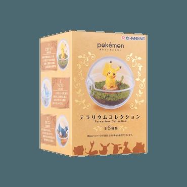 日本 Re-ment 宝可梦盲盒蛋 第一弹 一件入 共六款 款式随机发送