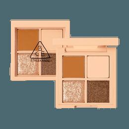 3CE Mini Multi Eye Color Palette #ALMOND FUDGE