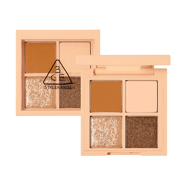 Product Detail - 3CE Mini Multi Eye Color Palette #ALMOND FUDGE - image 0