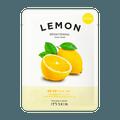韩国IT'S SKIN 鲜萃系列 柠檬维C美白补水面膜 1片
