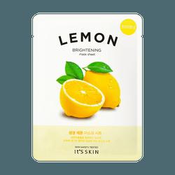 IT'S SKIN Vitality&Moisture Lemon Mask 1pc