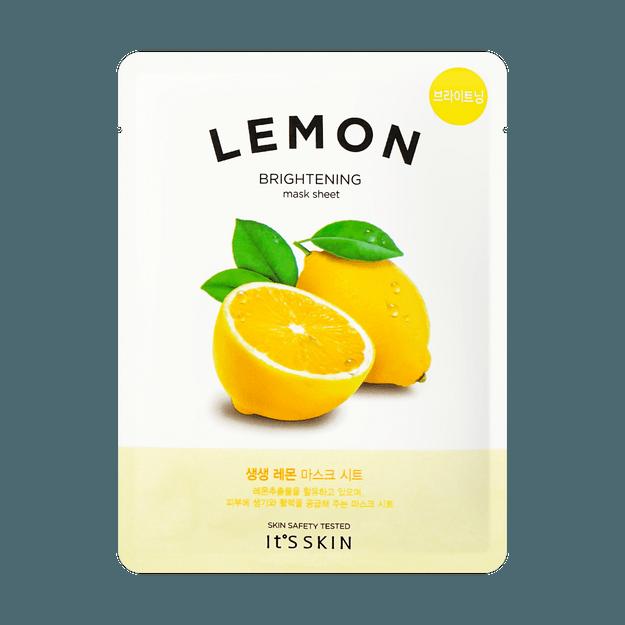 Product Detail - IT\'S SKIN Vitality&Moisture Lemon Mask 1pc - image 0