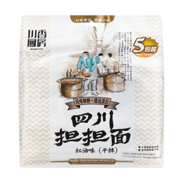 BJ Seasoned Noodle Dan Dan  (Slim Noodle) 725g