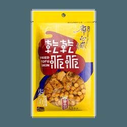 台湾廖心兰 干干脆脆 炸豆皮 柴鱼味 100g