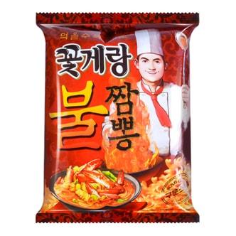 韩国BINGGRAE宾格瑞 海鲜辣味蟹酥脆片 膨化食品 70g