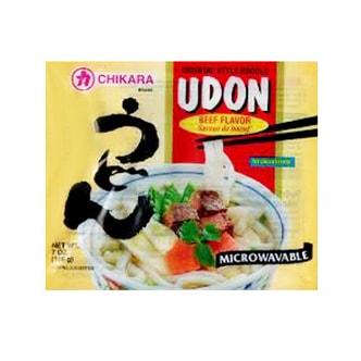 日本Chikara力牌 可微波乌冬面牛肉味 198g