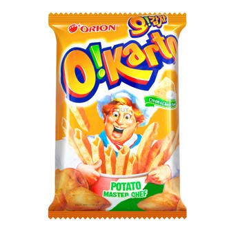 ORION O!Karto Potato Chip Cream & Cheese Flavor 115g