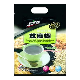 台湾健康时代 活力百汇 紫米核桃芝麻糊 12包入 360g