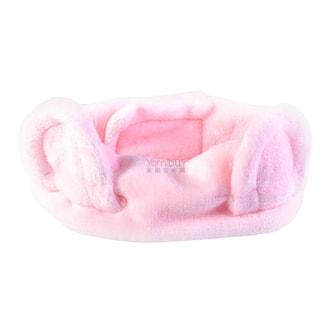 韩国BOTANIC FARM植物乐园 北极熊宝宝束发带 粉红色 1件入