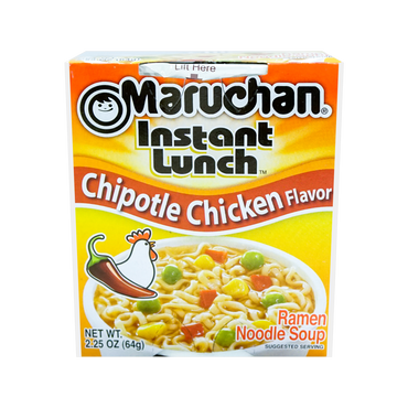 Maruchan Lunch Chipotle Chicken 2.25oz