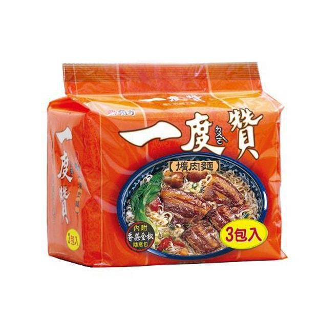 商品详情 - [台湾直邮] 维力 一度赞 爌肉面 3枚入 - image  0