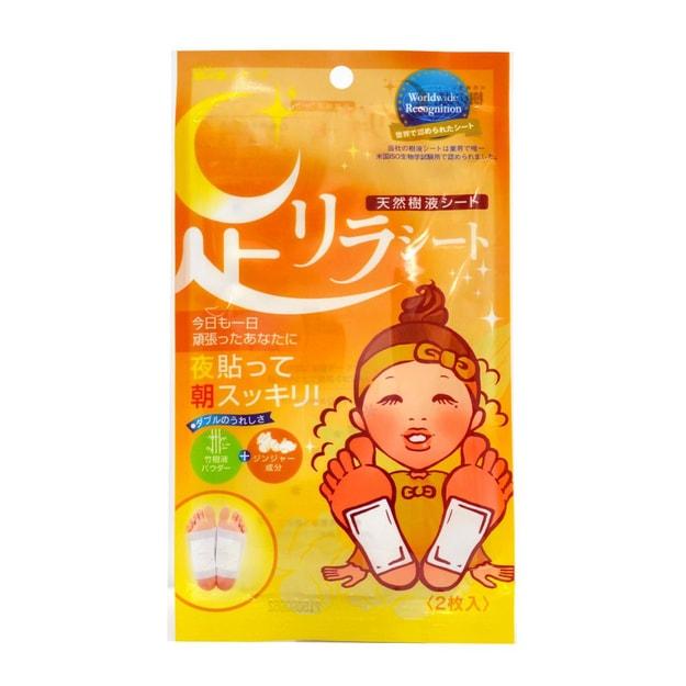 Product Detail - ASHIRIRA Detox Foot Patch Ginger 2sheets - image 0