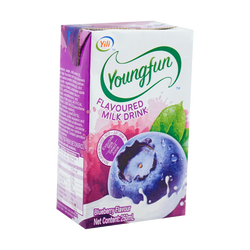 Yili Yogurt-blueberry 250ml