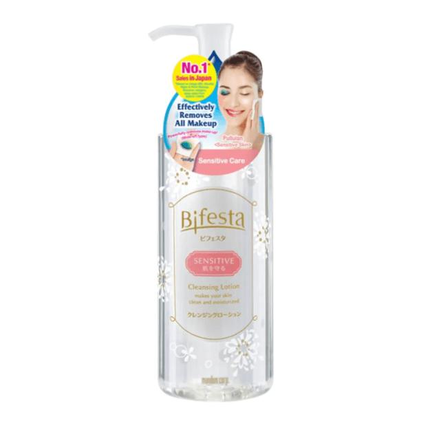 商品详情 - 【马来西亚直邮】日本 MANDOM BIFESTA 曼丹比菲斯特 敏感肌专用温和卸妆水 300ml - image  0