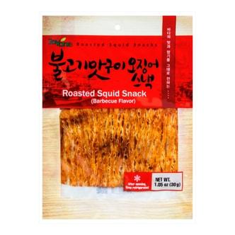 韩国JAYONE 鱿鱼丝 烧烤味 30g