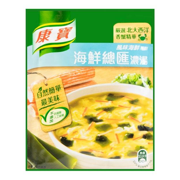 商品详情 - 台湾康宝 风味海鲜系列 海鲜总汇浓汤 38.3g - image  0