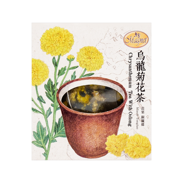 Product Detail - MAGNET Chrysanthemum Tea With Oolong 1.5g x 15 Tea Bags - image 0