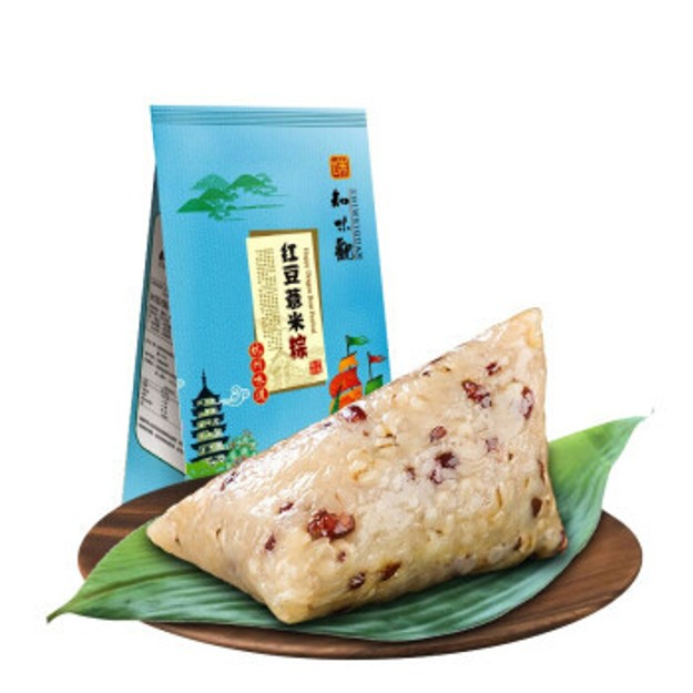 商品详情 - 知味观 红豆薏米粽 100g*2=1袋 - image  0