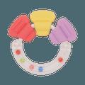 PIGEON 贝亲||婴儿手握式磨牙玩具||1个