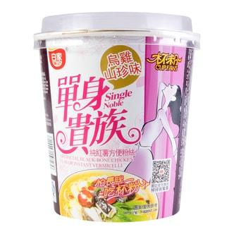白家陈记 单身贵族 纯红薯方便粉丝 乌鸡山珍味 70g