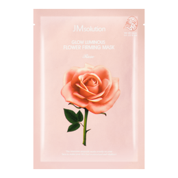 JM SOLUTION Glow Luminous Rose Flower Firming Mask 1 sheet