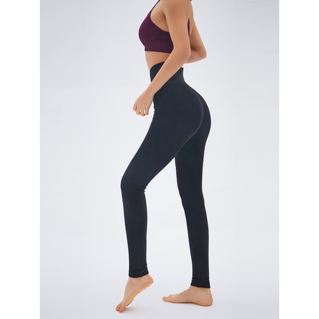 RUNNING STONE Yoga Compression Tights #Black XS
