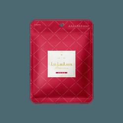 日本LULULUN 加强版红色高保湿面膜 单片入
