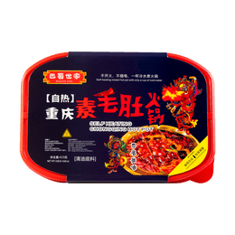 BASHUSHIJIA Self Heating Chongqing Hot Pot 415g