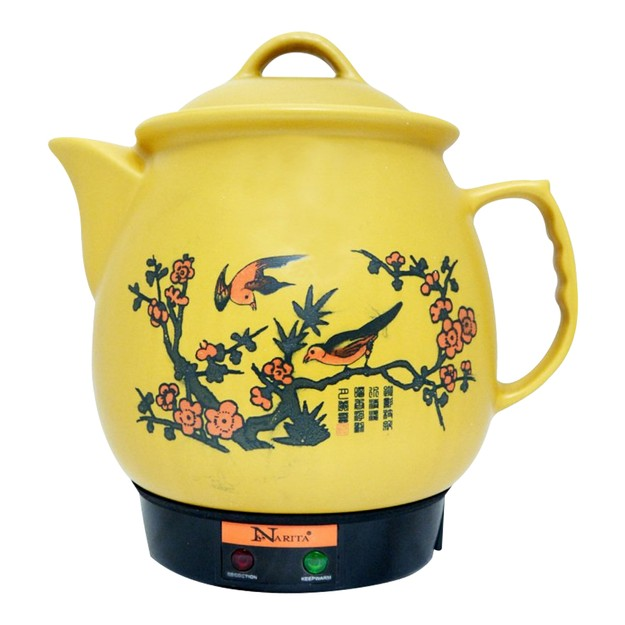 Product Detail - Narita Herbal Medicine Ceramic Electric Pot 4QT (1 Year Mfg Warranty) - image 0