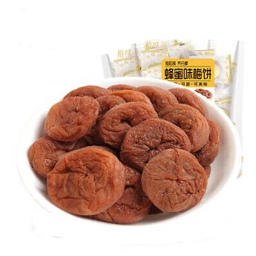 【新网红休闲零食】原味 无核梅饼 梅子话梅蜜饯果干 200克大包装 MushroomStorm品牌