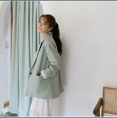 【现货】【韩国直邮】CHERRYKOKO 韩国时尚休闲女士风衣外套 米色 薄荷色 均码