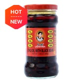 LAOGANMA Spicy Black Soybean in Jar 280g